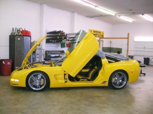 Crazy Corvette