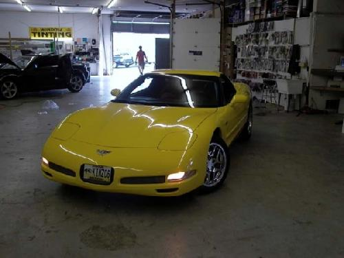YELLOW CORVETTE (7)