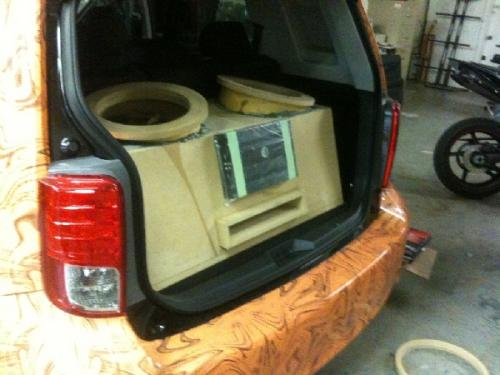 Custom Car Audio Scion XB (13)