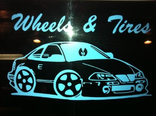 WHEEL AND TIRE LOGO